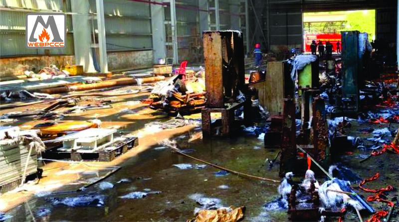Bình Dương: Cháy lớn tại công ty sản xuất tôn ở Khu công nghiệp Sóng Thần 2