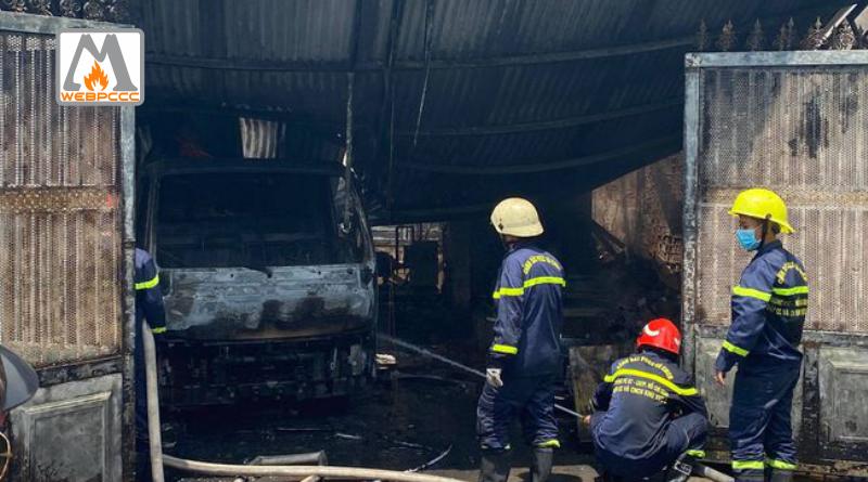 TP.HCM: Cháy kho xưởng ở Gò Vấp kèm nhiều tiếng nổ, nhiều tài sản bị thiêu rụi