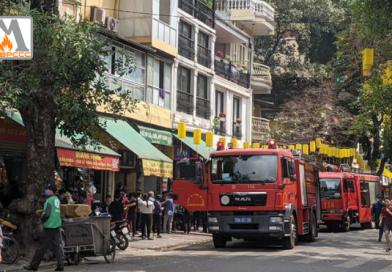 Hà Nội: Cháy lớn trong phố cổ, cả khu phố náo loạn