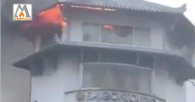 TP.HCM: Cháy lớn tại khách sạn Đồng Khánh, Quận 5