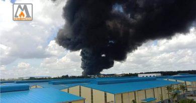 Bình Dương: Cháy lớn tại công ty đang thực hiện '3 tại chỗ'